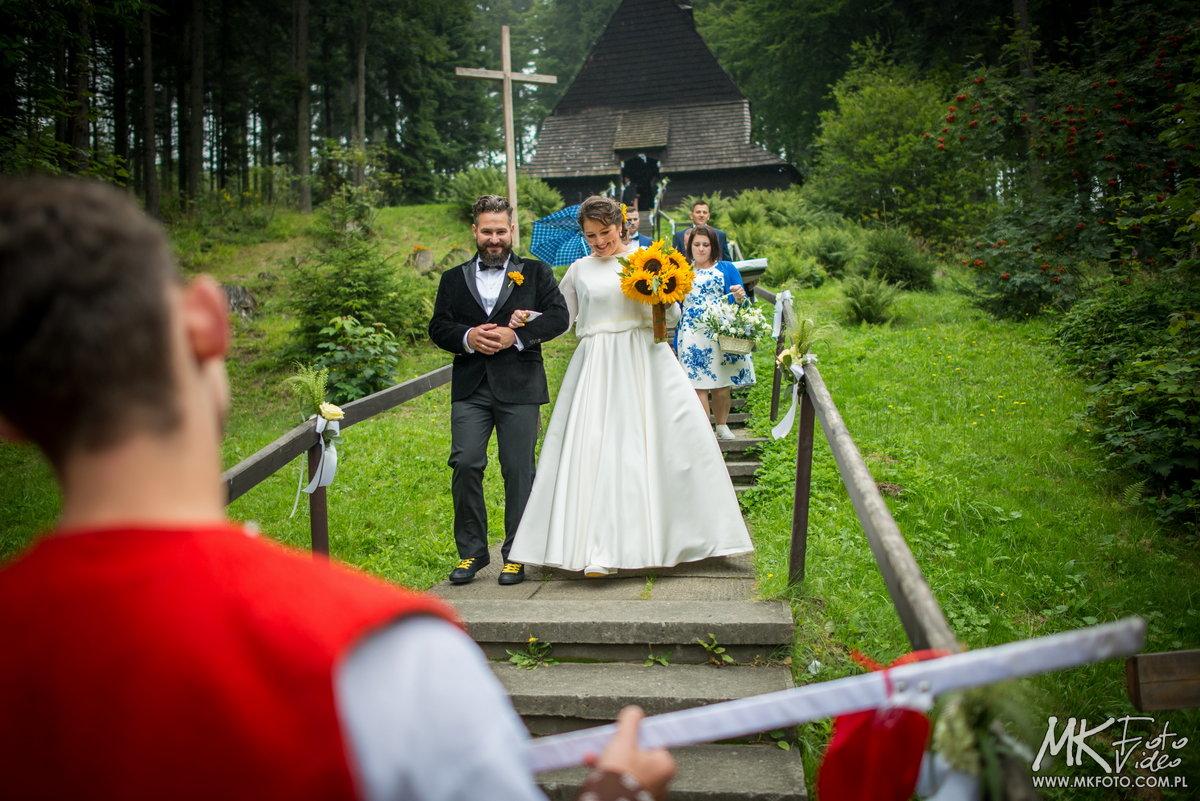 fotografia ślubna istebna