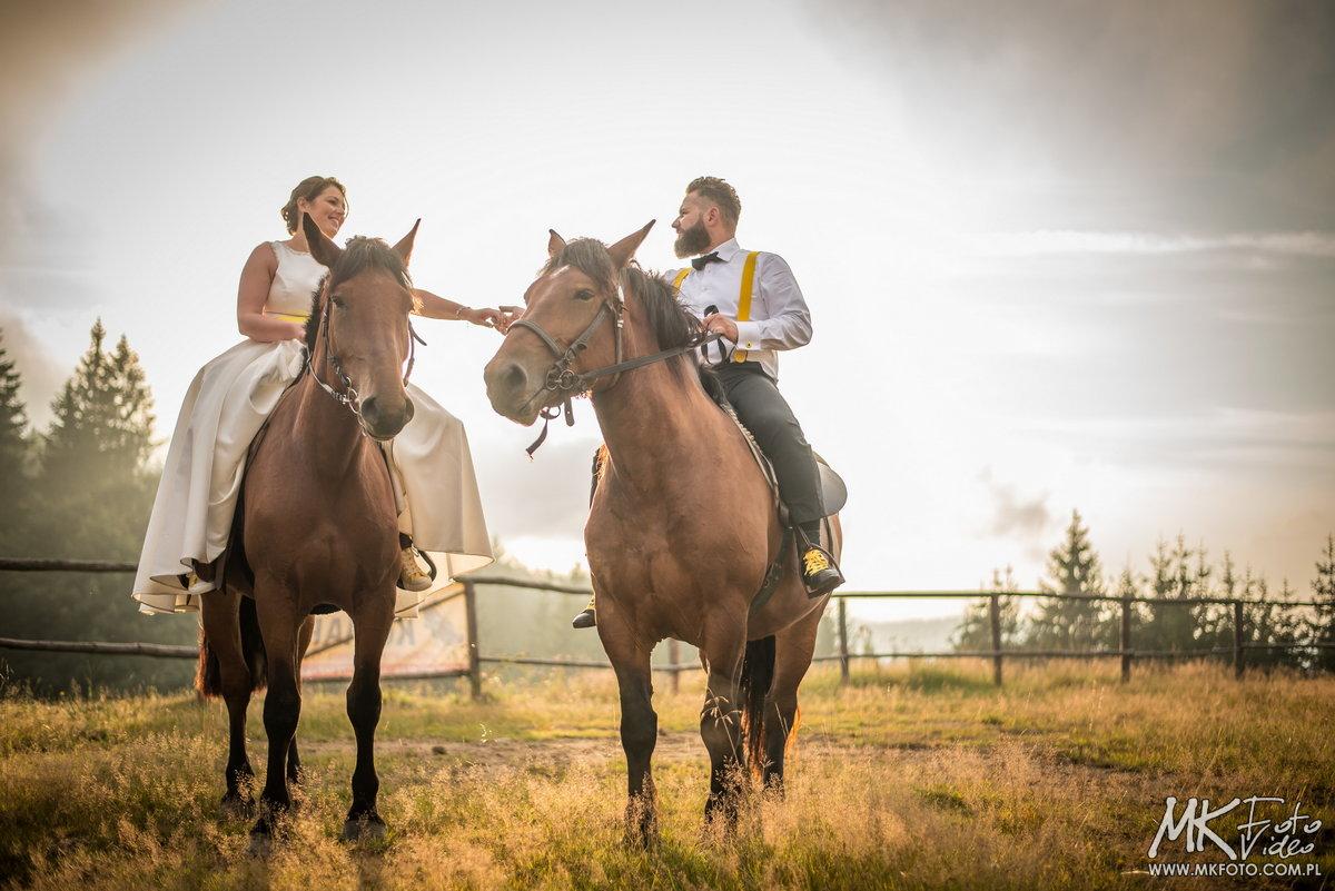 Plener na koniach