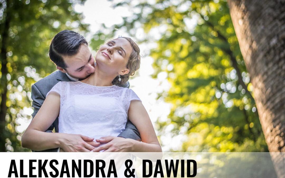 ALEKSANDRA & DAWID – Fotografia ślubna Cieszyn