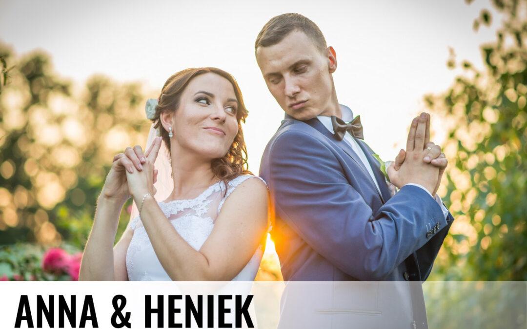 ANNA & HENIEK – fotografia ślubna Żory