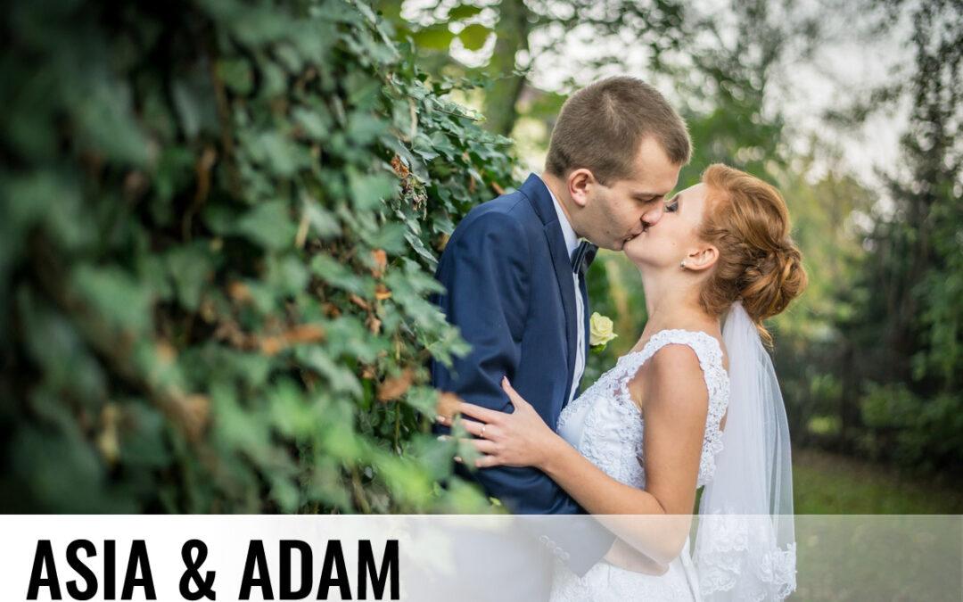 ASIA & ADAM – Fotografia ślubna Skoczów Brenna