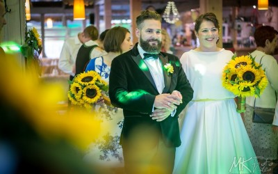 Fotograf Istebna Kubalonka – słonecznikowy ślub Anety i Radka