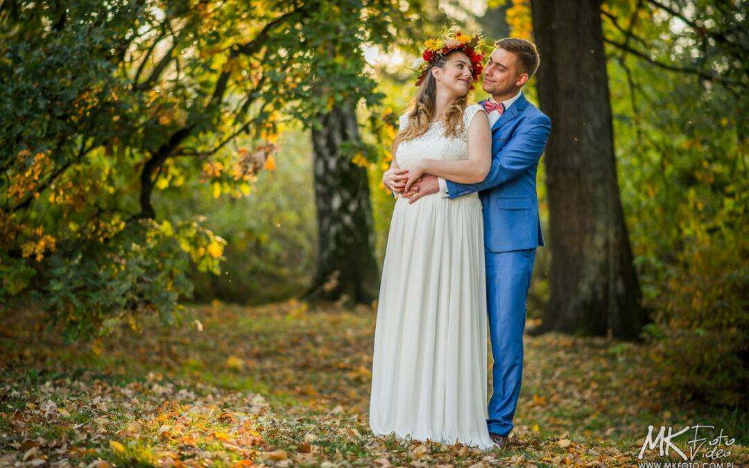 Fotografia ślubna Bielsko – plener ślubny w Pszczynie