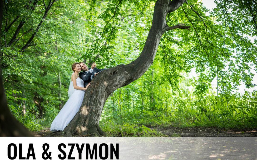 OLA & SZYMON – Fotografia ślubna Pszczyna Kobiór