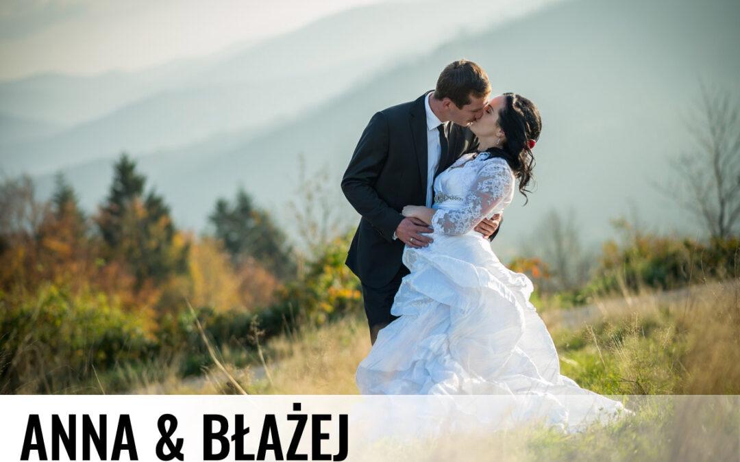 ANNA I BŁAŻEJ – Fotografia ślubna Istebna
