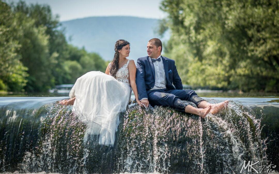 Plener ślubny w wodzie? Jak najbardziej…