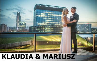 KLAUDIA & MARIUSZ – fotograf Tychy dom przyjęć Corona plener miejski Katowice sesja narzeczeńska